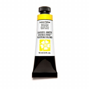 Extra-Fine Watercolors, 15ml Tubes, Lemon Yellow