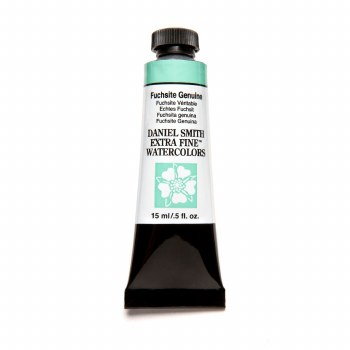Extra-Fine Watercolors, 15ml Tubes, Fuchsite Genuine - PrimaTek