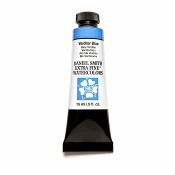 Extra-Fine Watercolors, 15ml Tubes, Verditer Blue