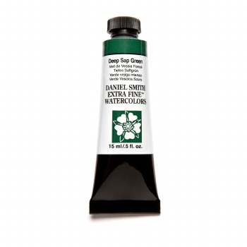 Extra-Fine Watercolors, 15ml Tubes, Deep Sap Green