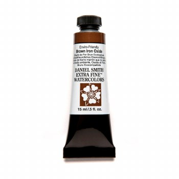 Extra-Fine Watercolors, 15ml Tubes, Enviro-Friendly Brown Iron Oxide
