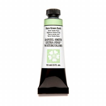 Extra-Fine Watercolors, 15ml Tubes, Rare Green Earth