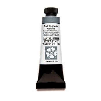 Extra-Fine Watercolors, 15ml Tubes, Black Tourmaline Genuine - PrimaTek