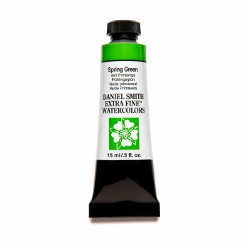 Extra-Fine Watercolors, 15ml Tubes, Spring Green