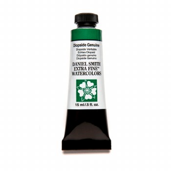 Extra-Fine Watercolors, 15ml Tubes, Diopside Genuine - PrimaTek