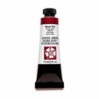 Extra-Fine Watercolors, 15ml Tubes, Mayan Red