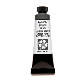 Extra-Fine Watercolors, 15ml Tubes, Neutral Tint