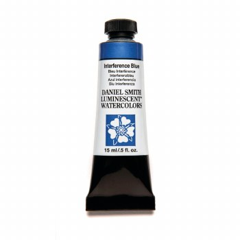 Daniel Smith Watercolors, Interference Blue - Luminescent