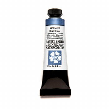 Extra-Fine Watercolors, Iridescent Blue Silver Luminescent