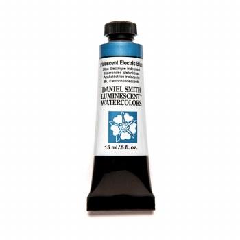Daniel Smith Watercolors, Iridescent Electric Blue - Luminescent