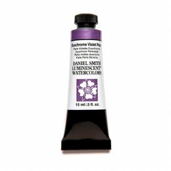 Daniel Smith Watercolors, Duochrome Violet Pearl - Luminescent
