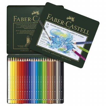 Albrecht Durer Watercolor Pencis Sets, 24-Color Set