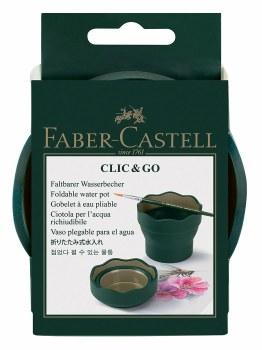CLIC & GO Water Pot, Faber Green