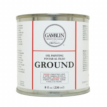 Oil Painting Ground, 8 oz.