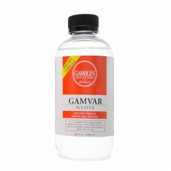 Gamvar Picture Varnish, Semi-Gloss, 8.5 oz.
