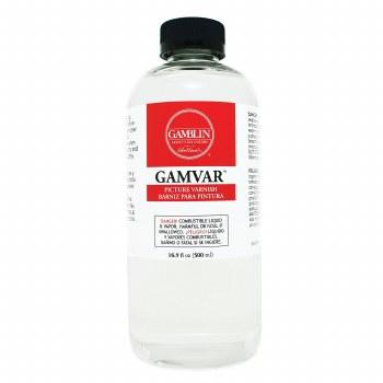 Gamvar Picture Varnish, Semi-Gloss, 16.9 oz.
