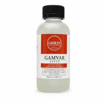 Gamvar Picture Varnish, Satin, 4.2 oz.