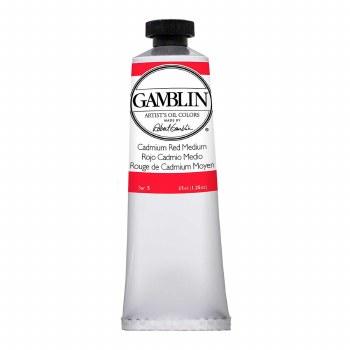 Gamblin Oil Colors, 37ml, Cadmium Red Medium
