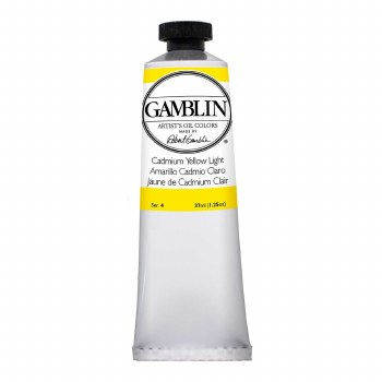 Gamblin Oil Colors, 37ml, Cadmium Yellow Light