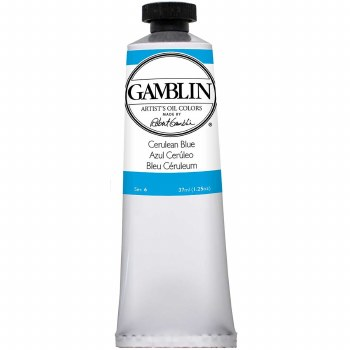 Gamblin Oil Colors, 37ml, Cerulean Blue