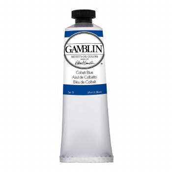 Gamblin Oil Colors, 37ml, Cobalt Blue