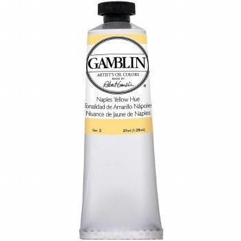 Gamblin Oil Colors, 37ml, Naples Yellow
