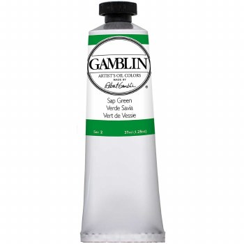 Gamblin Oil Colors, 37ml, Sap Green