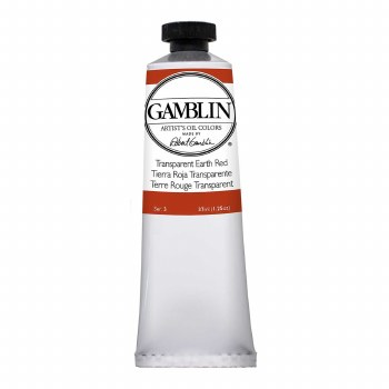 Gamblin Oil Colors, 37ml, Transparent Earth Red