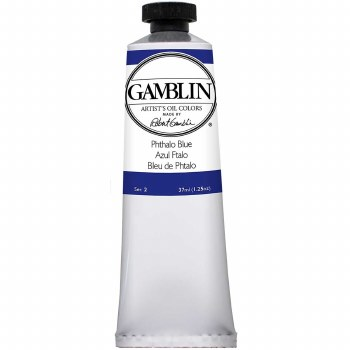 Gamblin Oil Colors, 37ml, Ultramarine Blue