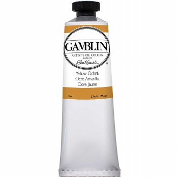 Gamblin Oil Colors, 37ml, Yellow Ochre