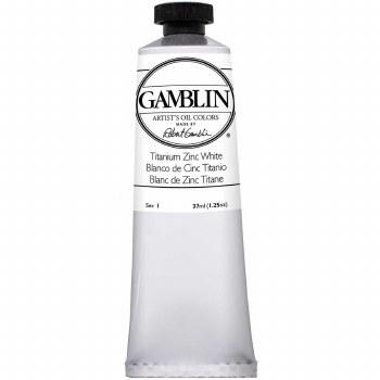 Gamblin Oil Colors, 37ml, Titanium Zinc White