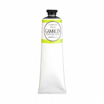 Gamblin Oil Colors, 150ml, Cadmium Green