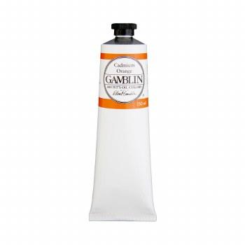 Gamblin Oil Colors, 150ml, Cadmium Orange