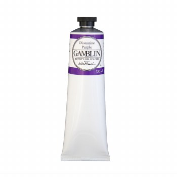 Gamblin Oil Colors, 150ml, Dioxazine Purple