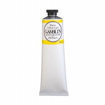 Gamblin Oil Colors, 150ml, Hansa Yellow Light