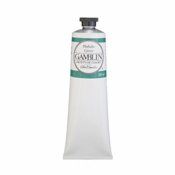 Gamblin Oil Colors, 150ml, Pthalo Green