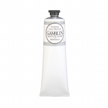 Gamblin Oil Colors, 150ml, Portland Grey Light