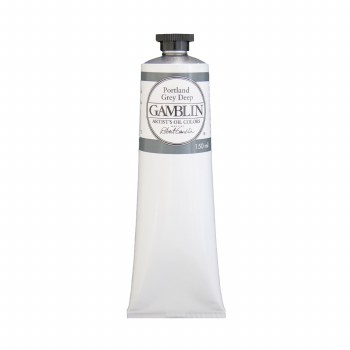 Gamblin Oil Colors, 150ml, Portland Grey Deep