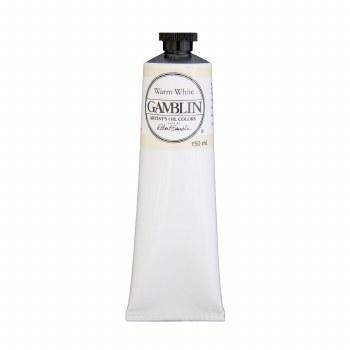 Gamblin Oil Colors, 150ml, Warm White