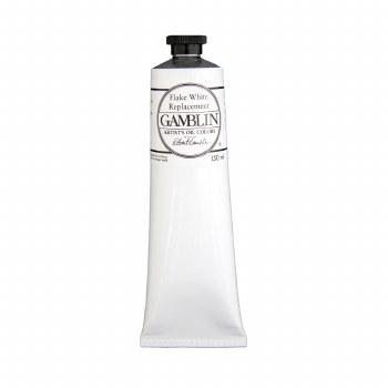 Gamblin Oil Colors, 150ml, Flake White Replacement