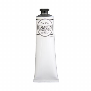 Gamblin Oil Colors, 150ml, Zinc White