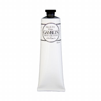 Gamblin Oil Colors, 150ml, Quick Dry White