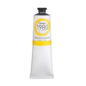 Gamblin 1980 Oil Colors, 150ml, Cadmium Yellow Medium
