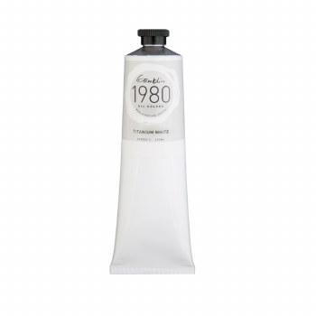 Gamblin 1980 Oil Colors, 150ml, Titanium White