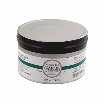 Etching Inks, Pthalo Green - 1 lb. - Can