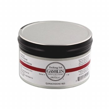 Etching Inks, Quinacridone Red - 1 lb. - Can