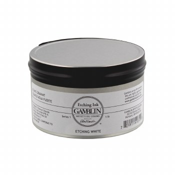 Etching Inks, White - 1 lb. - Can