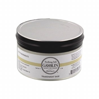 Etching Inks, Transparent Base - 1 lb. - Can