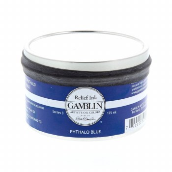 Relief Inks, Pthalo Blue - 175ml