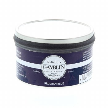 Relief Inks, Prussian Blue - 175ml